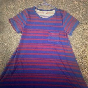 LuLaRoe XS Carly T Shirt Dress